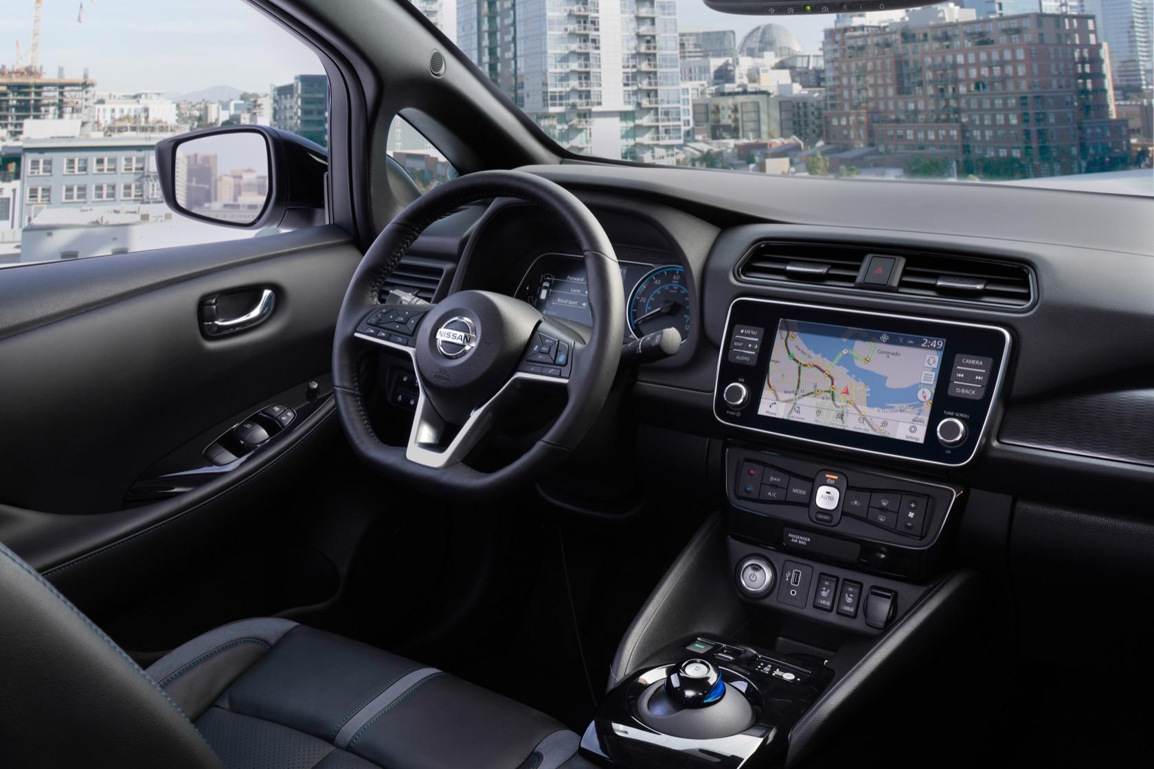 2019 Nissan Leaf Plus Brings 226 Miles Of E Range Slashgear