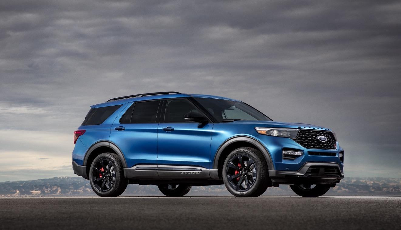 2020 ford explorer st and explorer hybrid bring power and