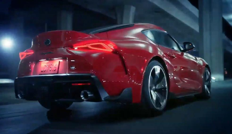 2020 Toyota Supra makes full debut in official video leak