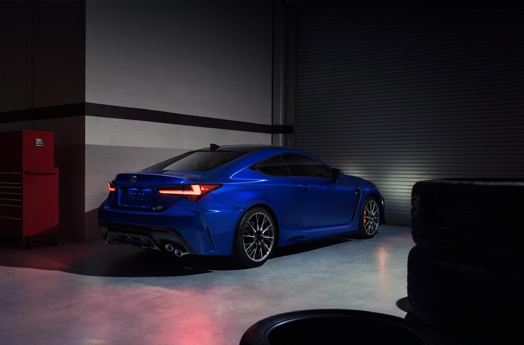 2020 Lexus Rc F Track Edition Gives Luxury Coupe Real Bite Slashgear