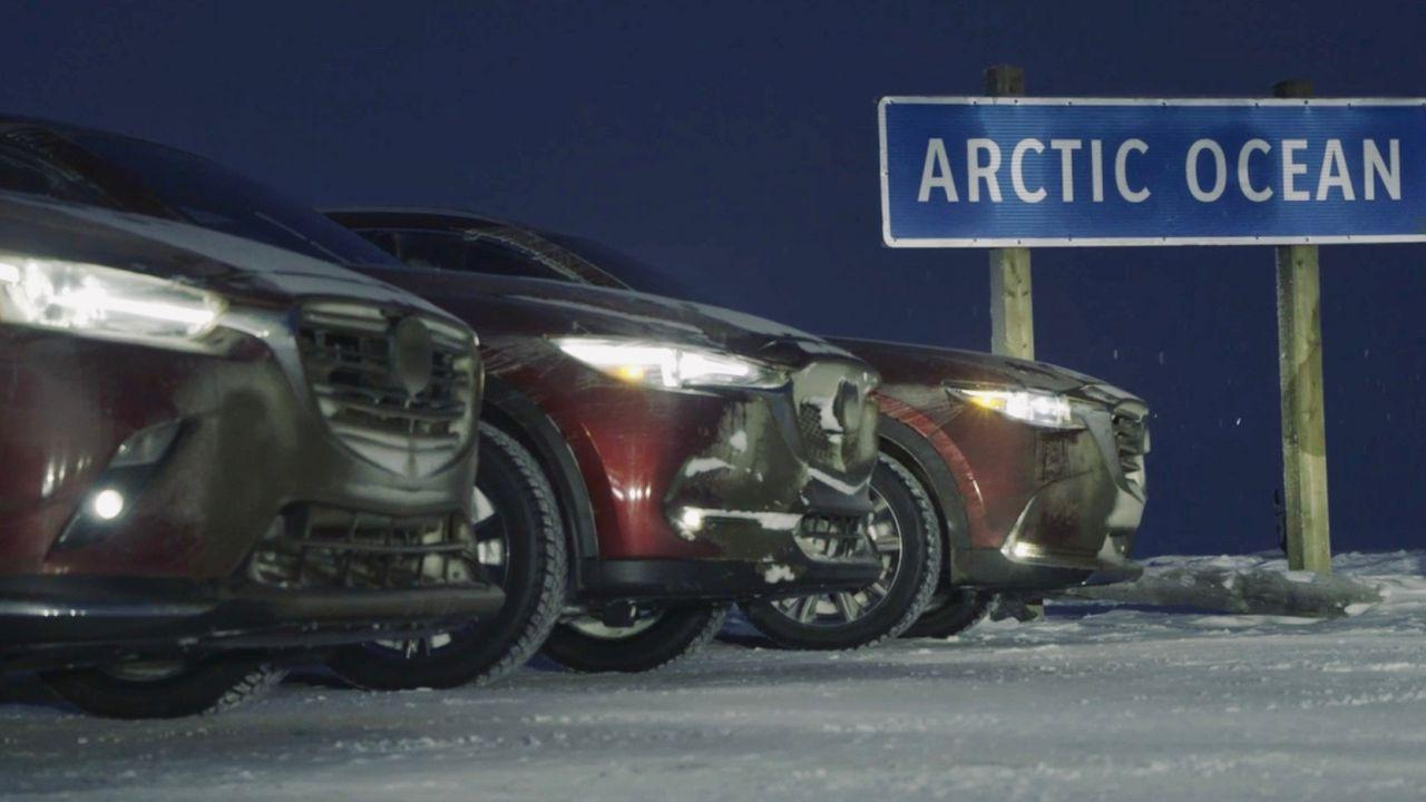 Mazda's CX-3, CX-5 and CX-9 are unlikely Arctic explorers – but we went anyway