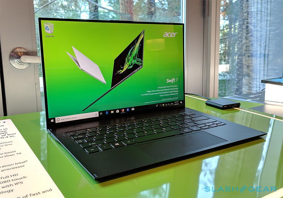Acer Swift 7 hands-on: An impossibly thin and lightweight