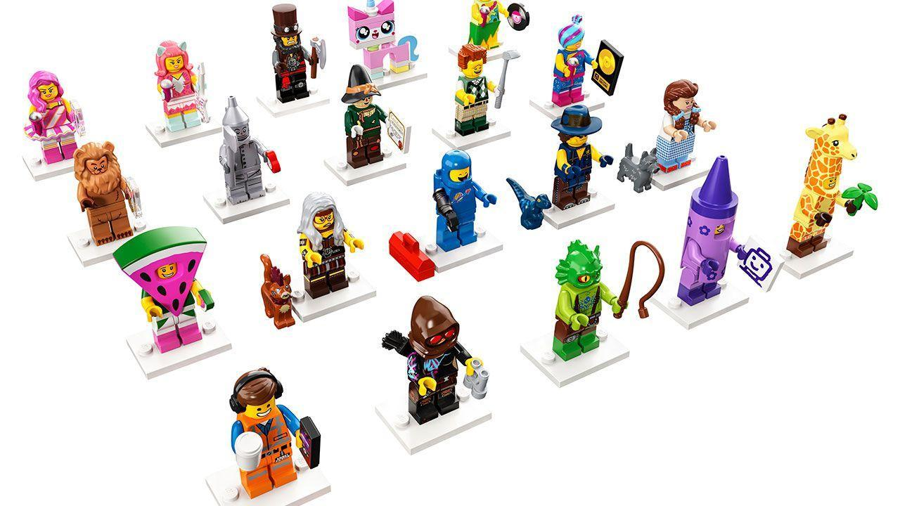 LEGO Movie 2 Minifigure packs revealed