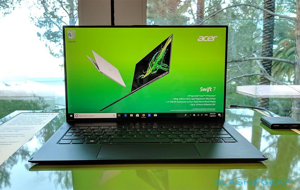 Acer Swift 7 hands-on: An impossibly thin and lightweight laptop