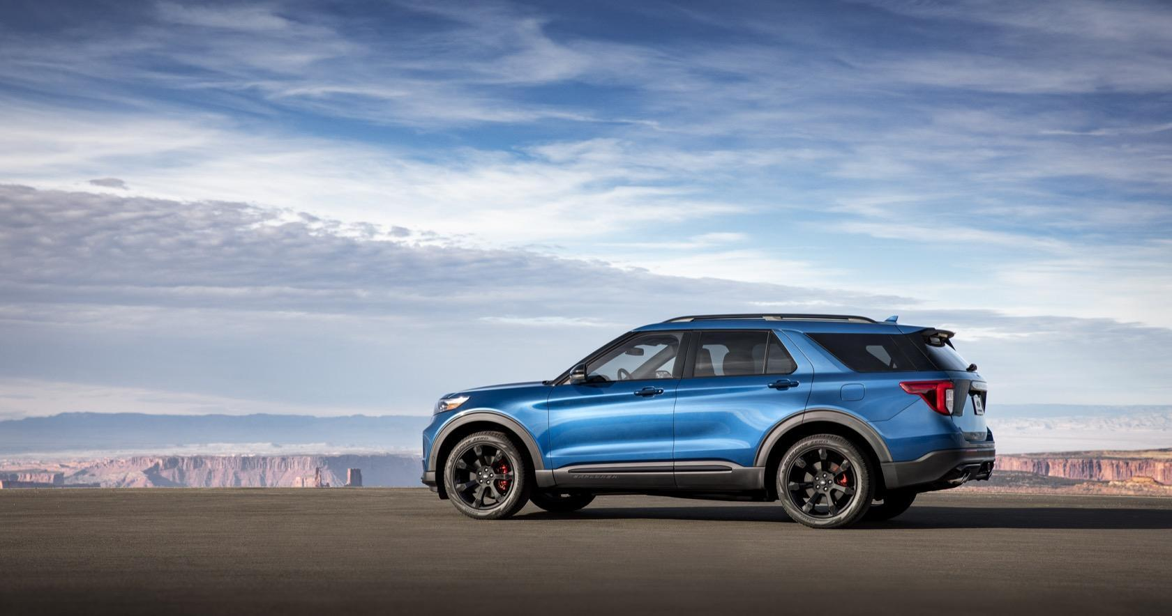 2020 Ford Explorer St And Explorer Hybrid Bring Power And Electric