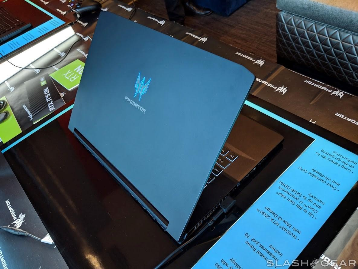 Acer Predator Triton 500 hands-on: RTX without the size