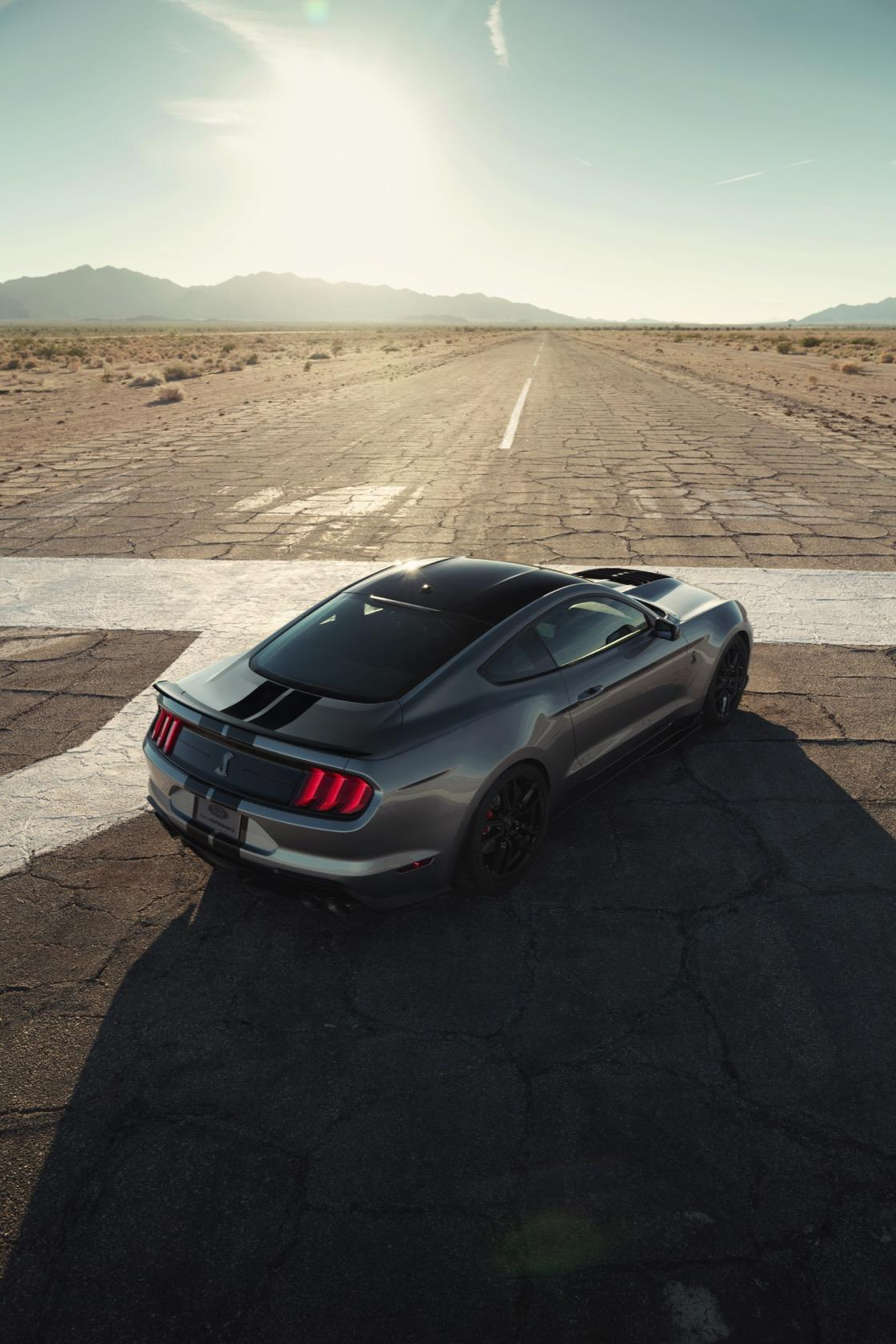 2020 Mustang Shelby GT500 is a 700+ horsepower supercar
