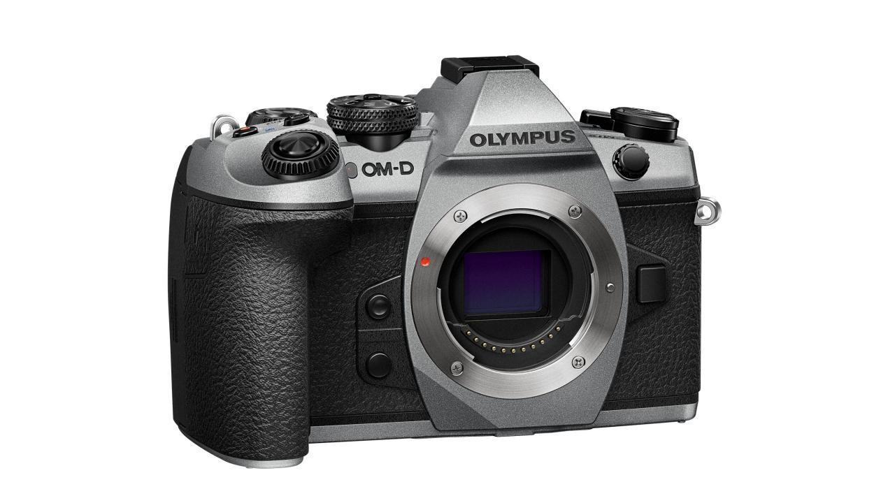 Olympus OM-D E-M1 Mark II Silver limited edition celebrates 100 years of cameras
