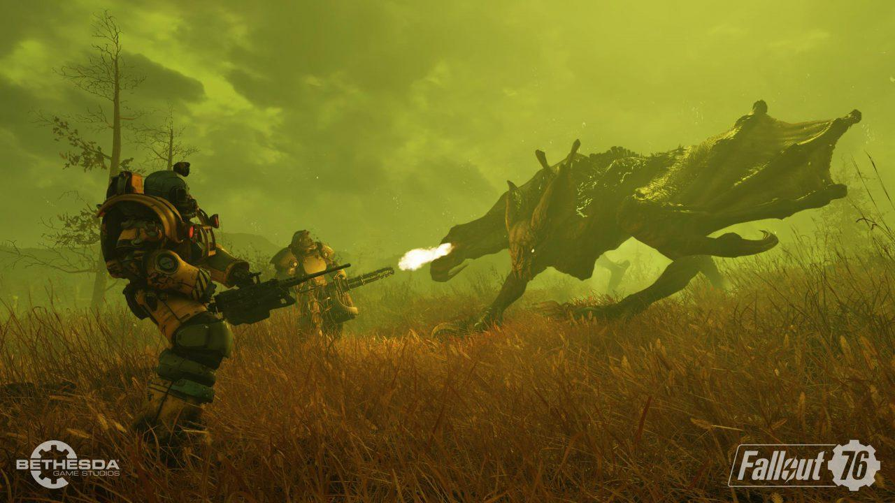 Fallout 76 kicks off 2019 with a game-breaking bug