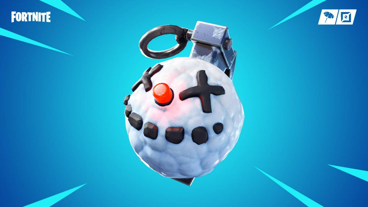 Fortnite patch notes: Chiller Grenade, 4 weapons vaulted