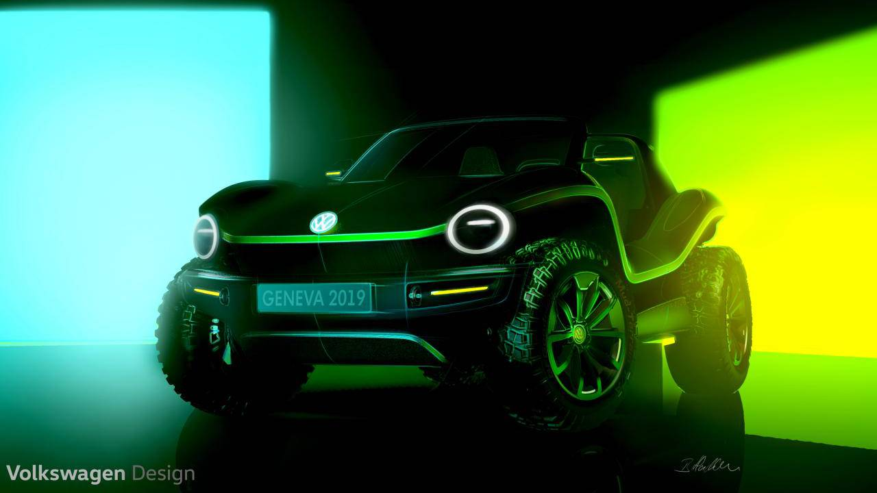 Volkswagen electric Dune Buggy concept brings the 60s to the present