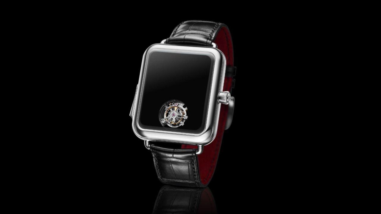 This $350,000 handless watch is a sly nod at Apple Watch excess
