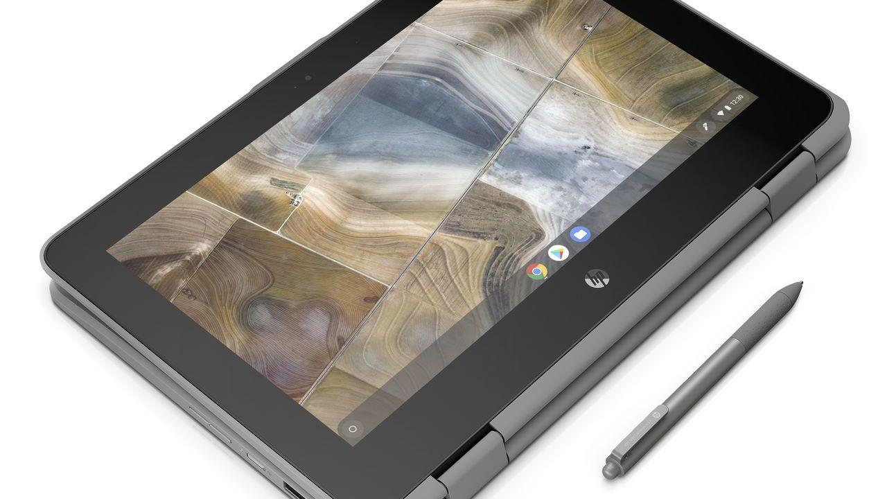 HP announces two new Chromebooks in education push