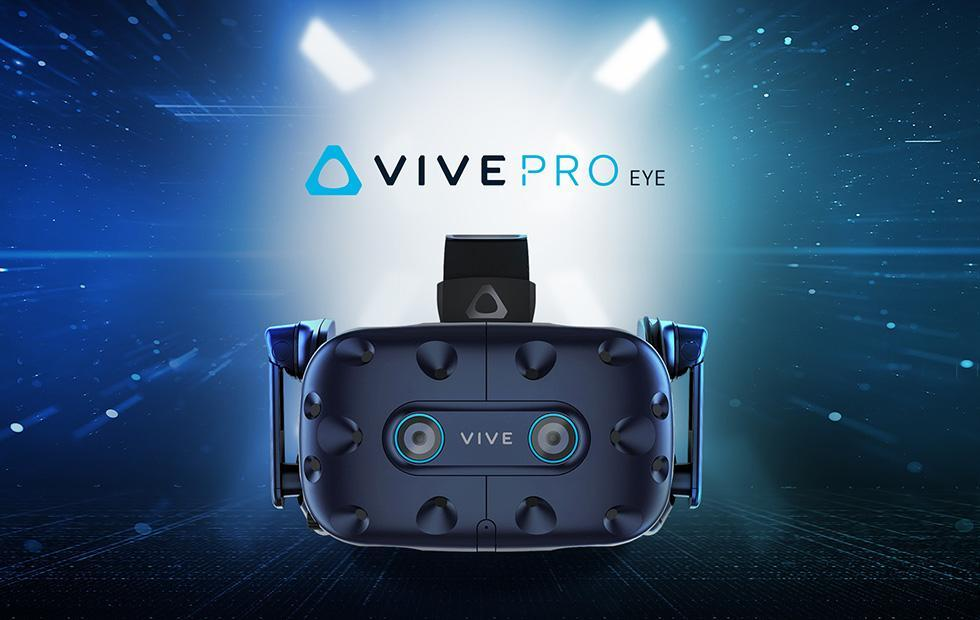 HTC reveals Vive Pro Eye VR headset with built-in eye tracking