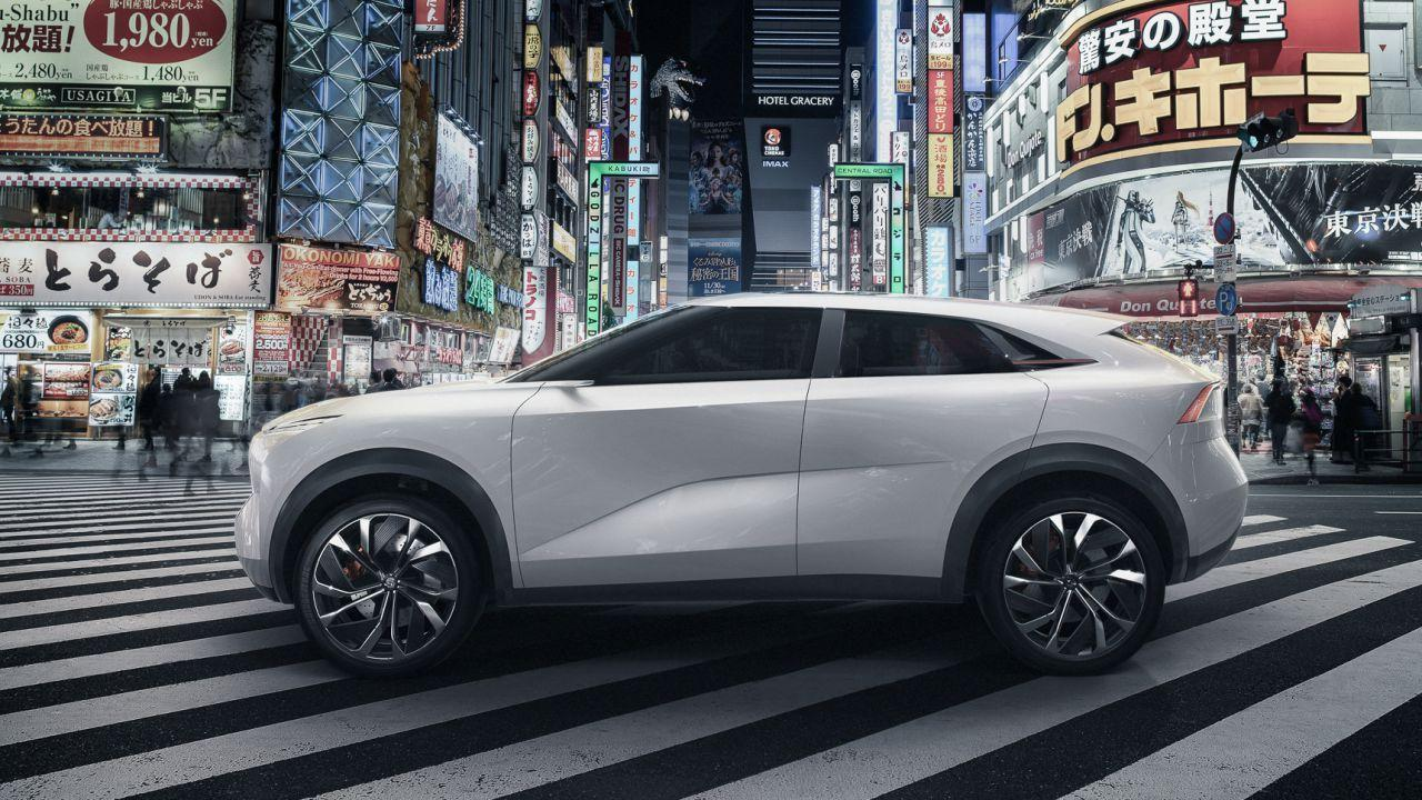 This is the Infiniti QX Inspiration EV concept, and it's a big deal
