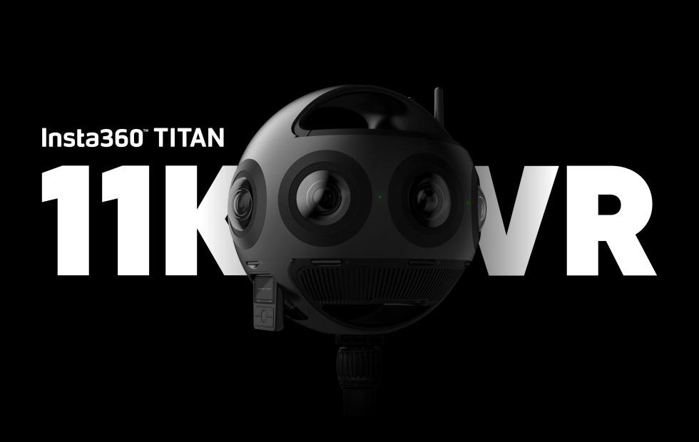 Insta360 Titan harnesses eight Micro 4/3 sensors for 11K video