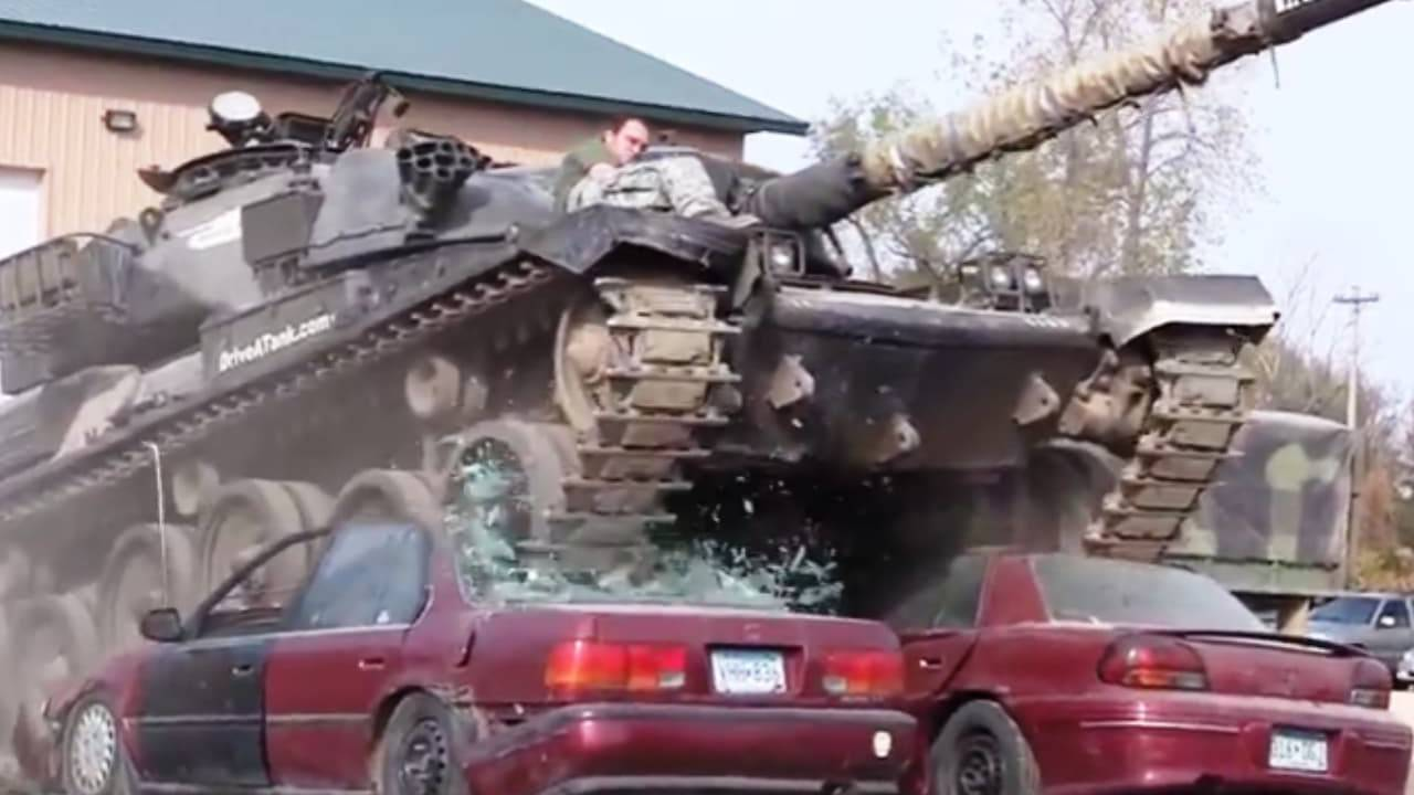 "Drive A Tank ""Tanks to You"" delivers a working tank to your backyard"