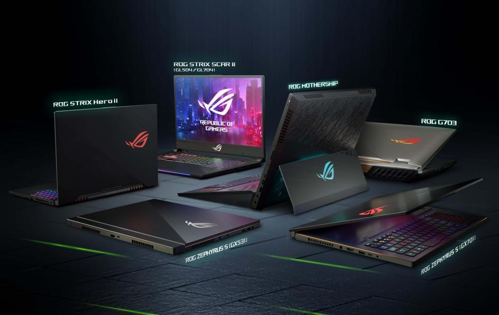 ASUS ZenBook, StudioBook, ROG laptops: the CES 2019 roundup