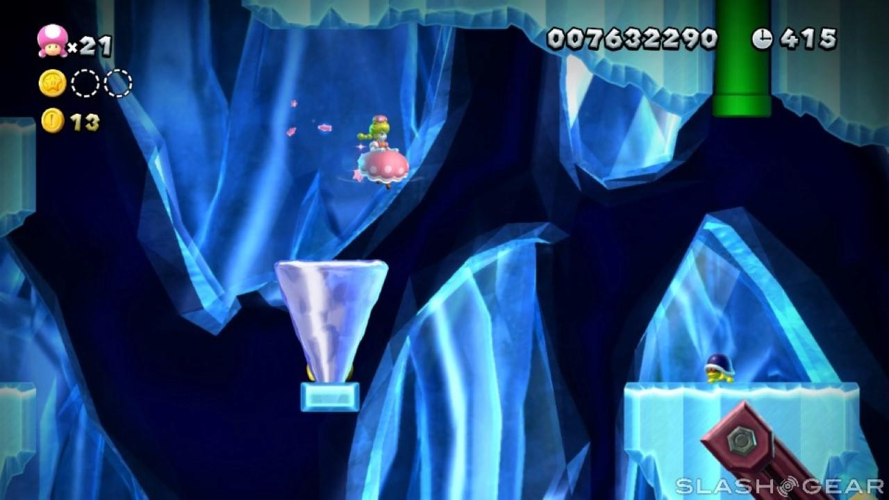 New Super Mario Bros U Deluxe review: The toad princess