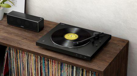 Sony LX310BT Turntable has built-in Bluetooth and USB output
