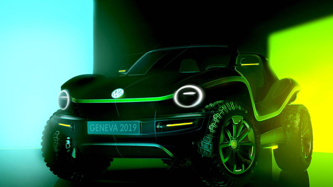 VW dune buggy electric concept proves EVs aren't dull