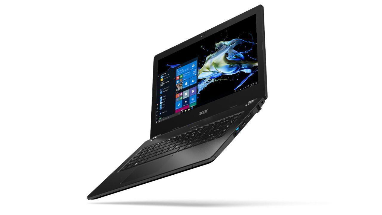 Acer TravelMate B114-21 is a tough, AMD laptop for students