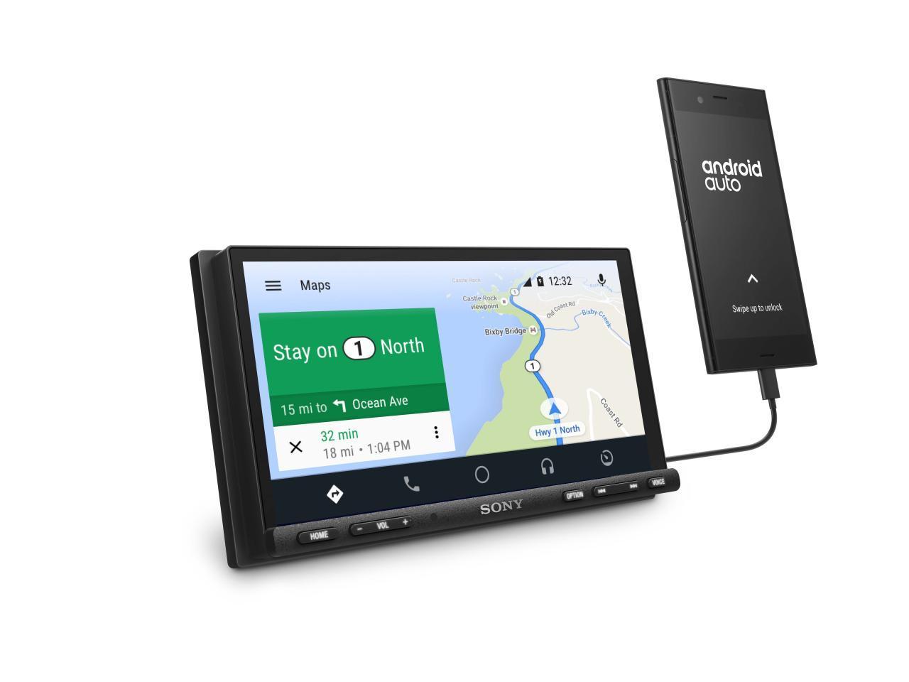 Sony XAV-AX7000 car receiver flaunts a fancier, more