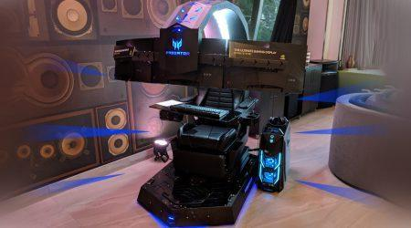Acer Predator Thronos Gaming Chair hands-on: Gloriously Excessive