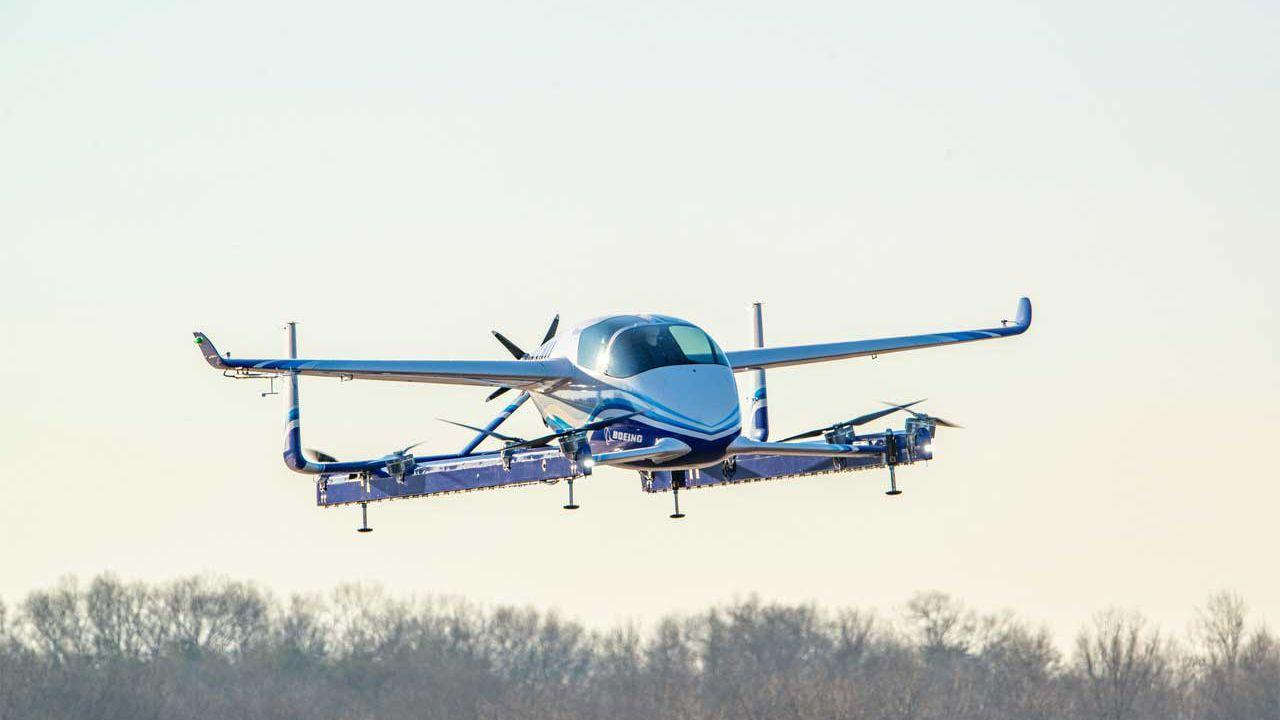 Boeing's autonomous air taxi has a successful first test flight