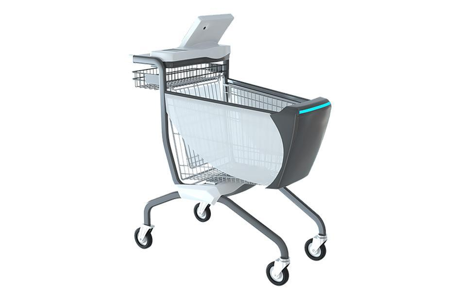 Caper smart grocery shopping carts are powered by AI