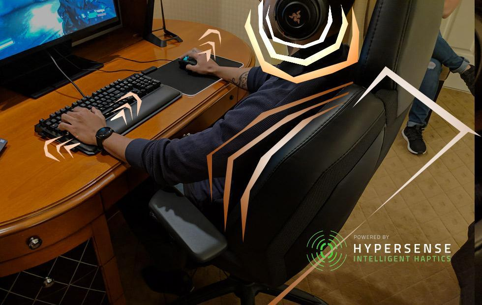 Razer HyperSense devices hands-on: From THX sound to Lofelt haptic feedback