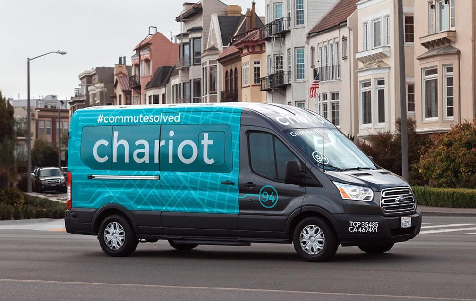 Ford shutters its Chariot shuttle bus service