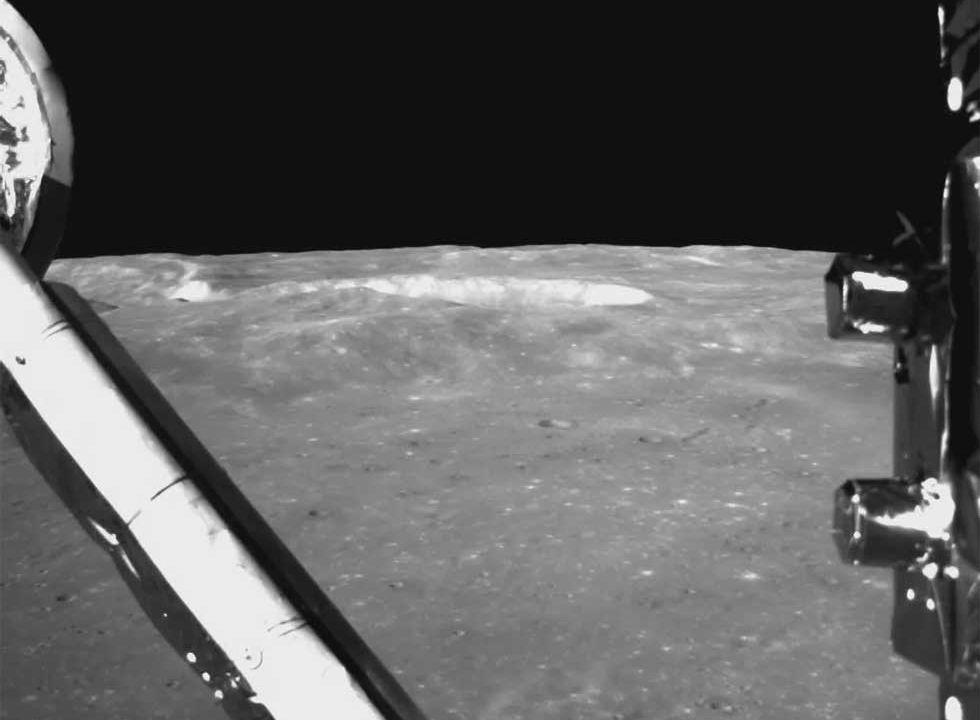 China shares Chang'e 4 moon landing video