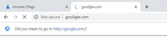 Google Chrome may warn users of dangerous lookalike URLs