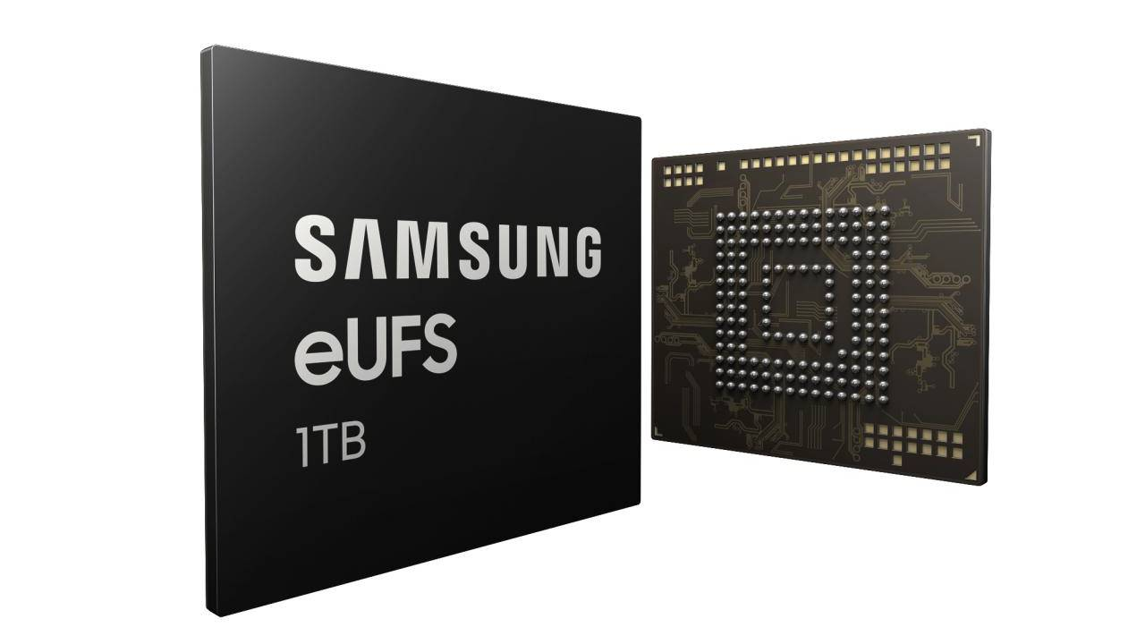 Samsung 1TB UFS chip practically confirms Galaxy S10+ rumor