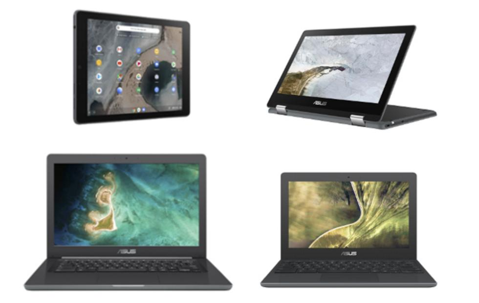 New ASUS Chromebooks are built for tough school life