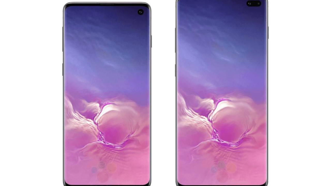 Galaxy S10, S10+ renders, colors leak to show off new design