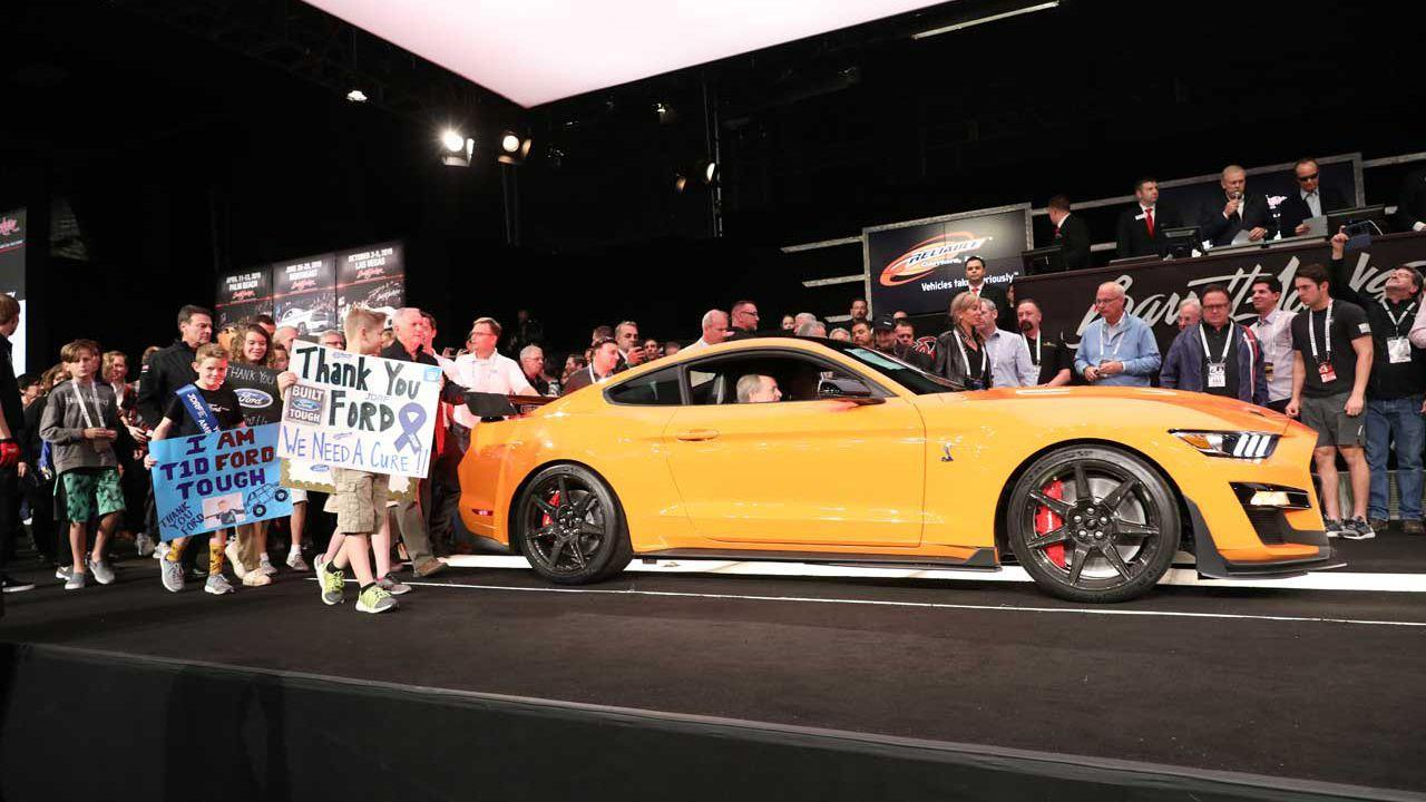 First 2020 Shelby GT500 Raises $1.1M at auction for diabetes research