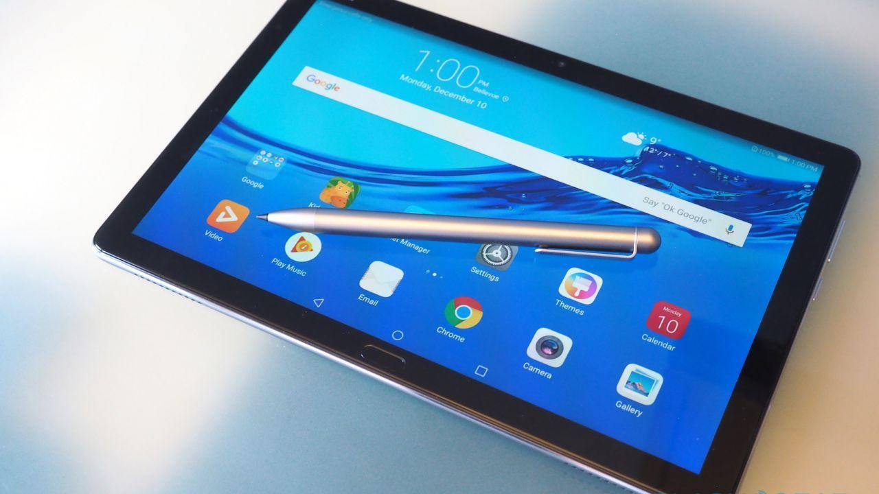 Huawei MediaPad M5 lite hands-on: iPad gets a stylish foe
