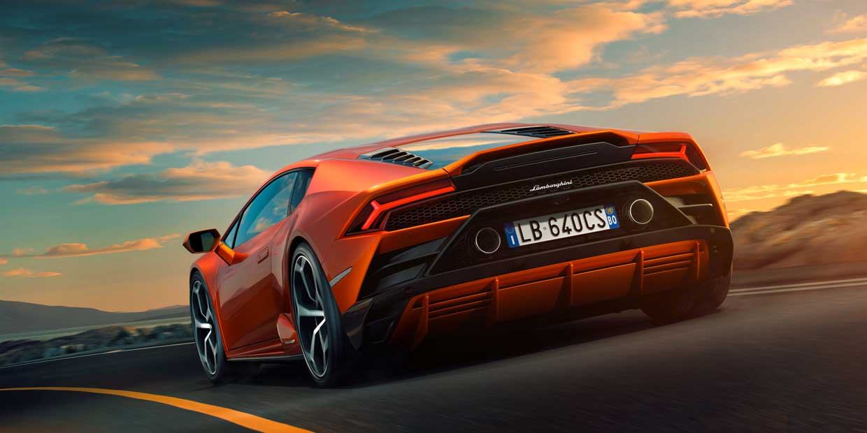Lamborghini Huracan EVO packs all-wheel drive, all-wheel steering, and 640hp