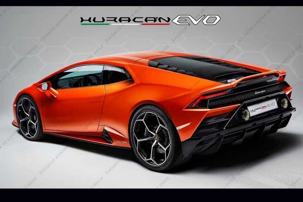 Refreshed Lamborghini Huracan teased, expected to launch this year