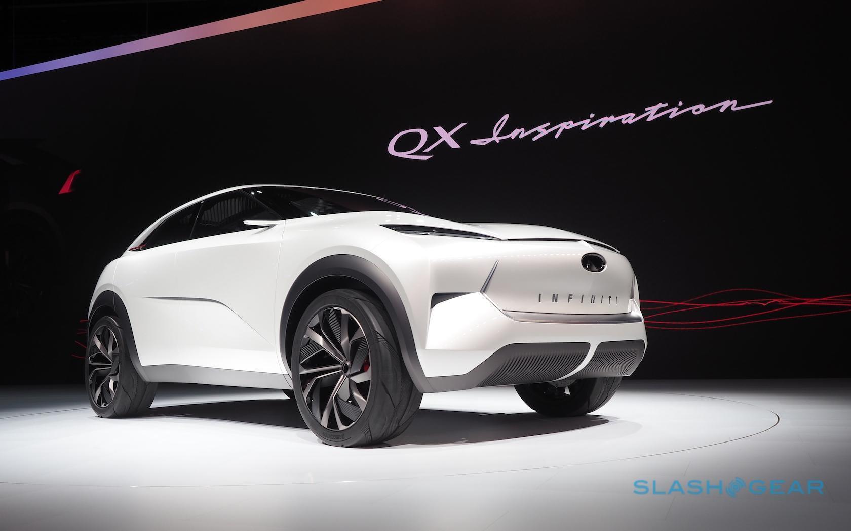 Infiniti QX Inspiration Concept gives EV SUV plan a