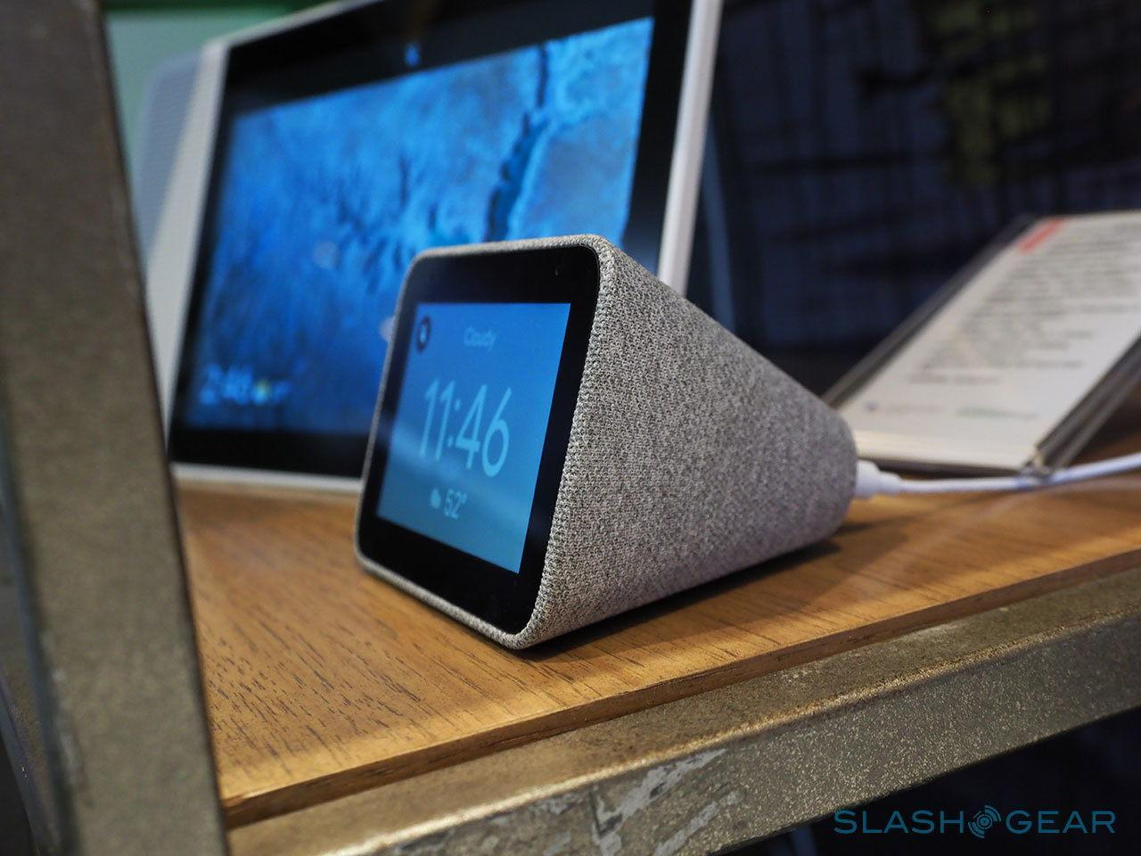 Lenovo Smart Clock brings Google Assistant to your bedside