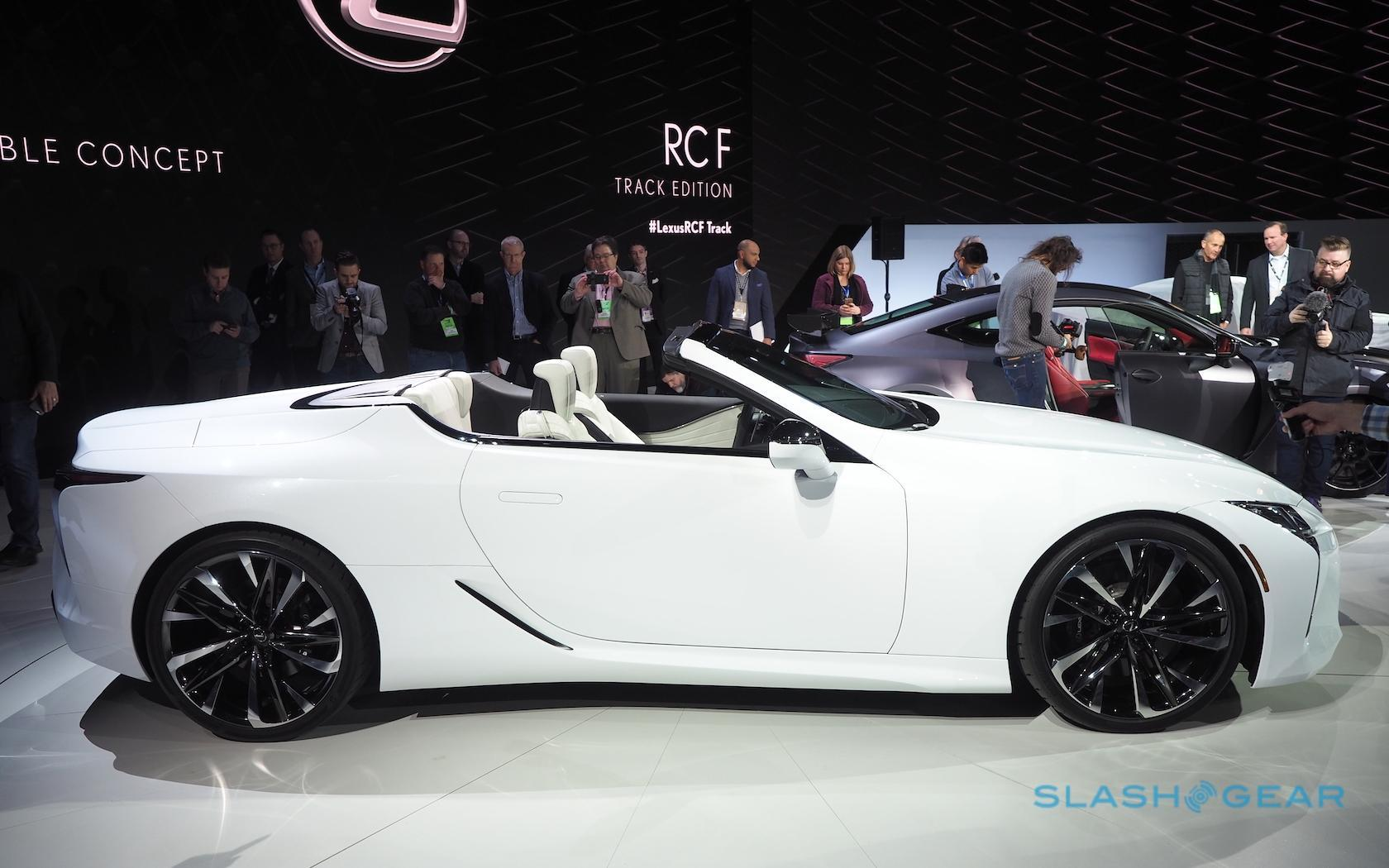 Most Likely To Questions >> Lexus LC Convertible first look: two questions and an answer - SlashGear