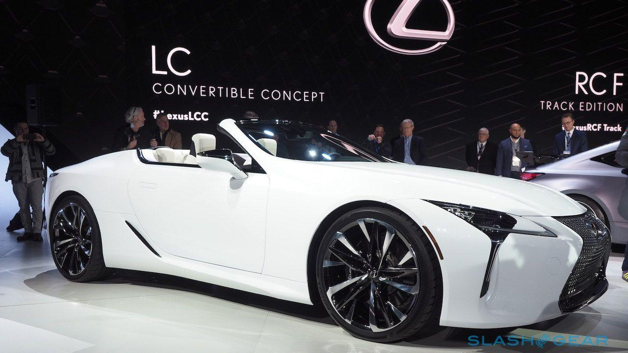 Lexus Lc Convertible First Look Two Questions And An Answer Slashgear