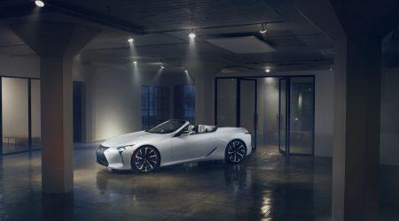 Lexus LC Convertible Concept Gallery