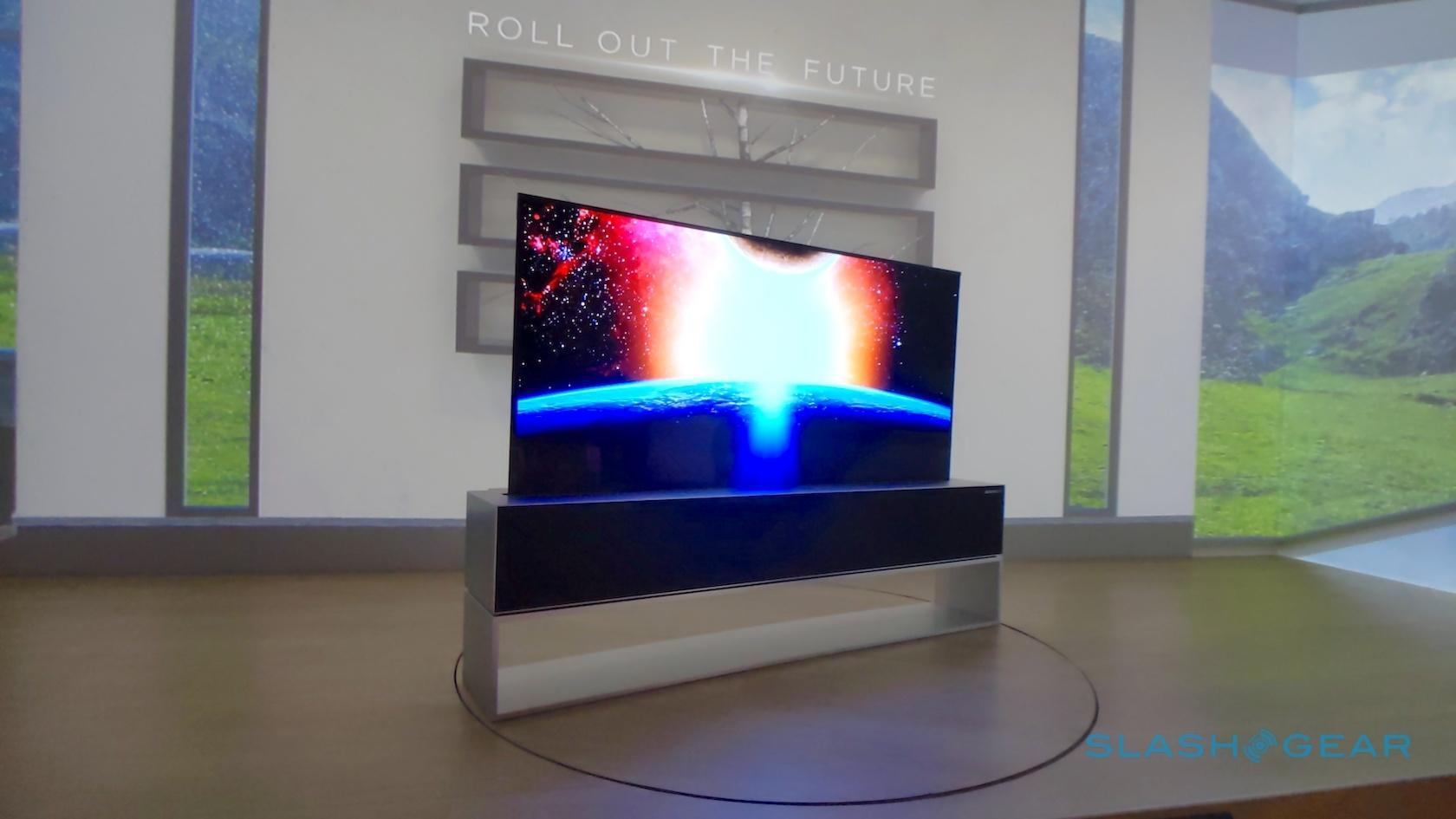 LG's rollable TV is slick enough to silence any skeptics - SlashGear
