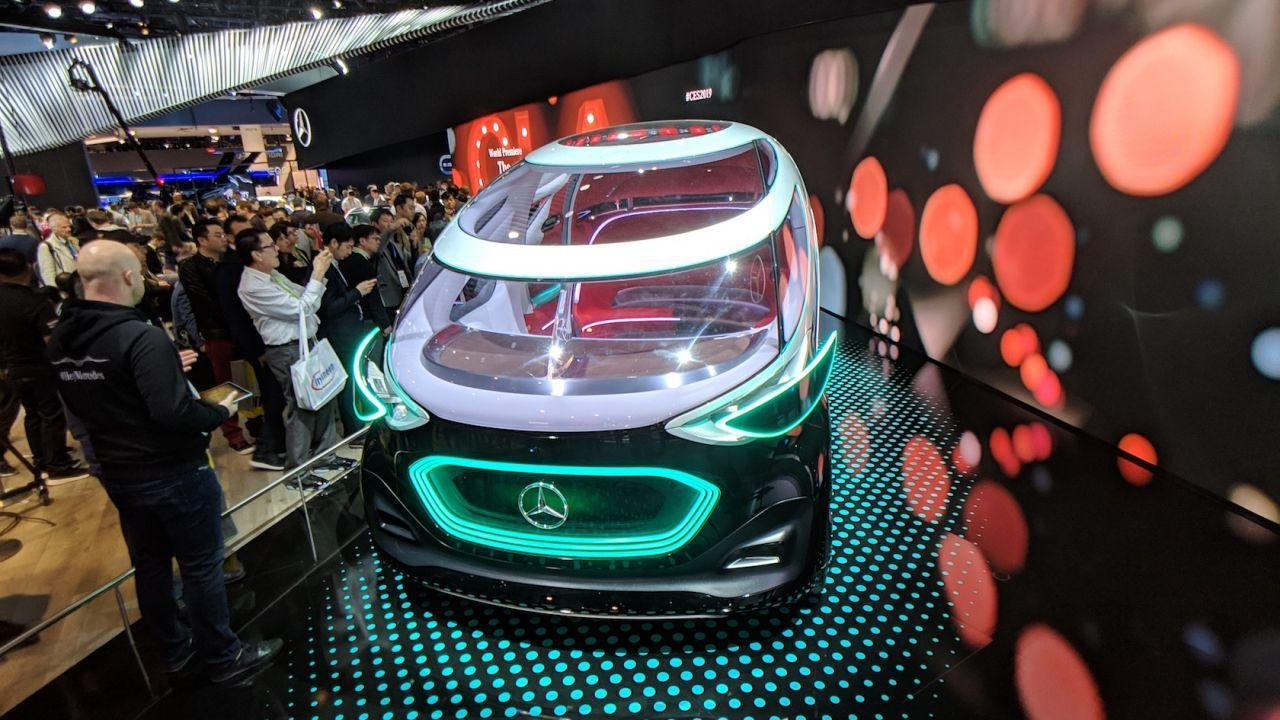 Mercedes-Benz Vision URBANETIC Concept Gallery