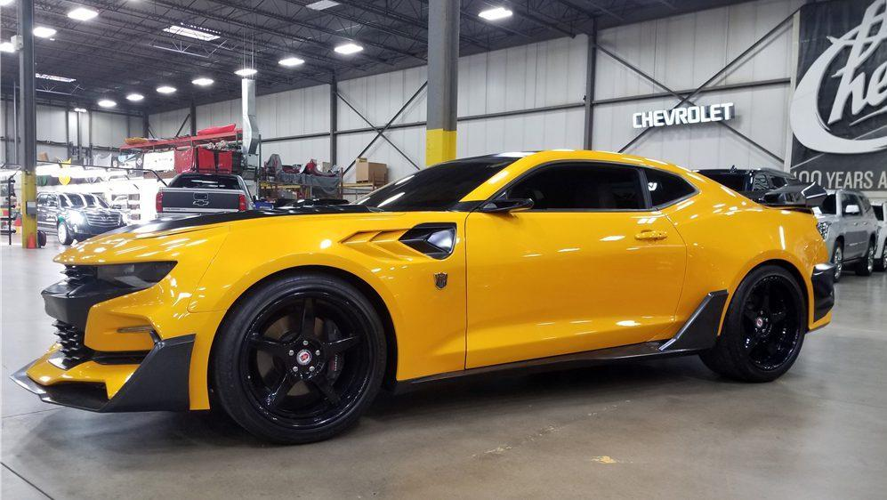 Bumblebee auction: All 4 Transformers Camaros being sold