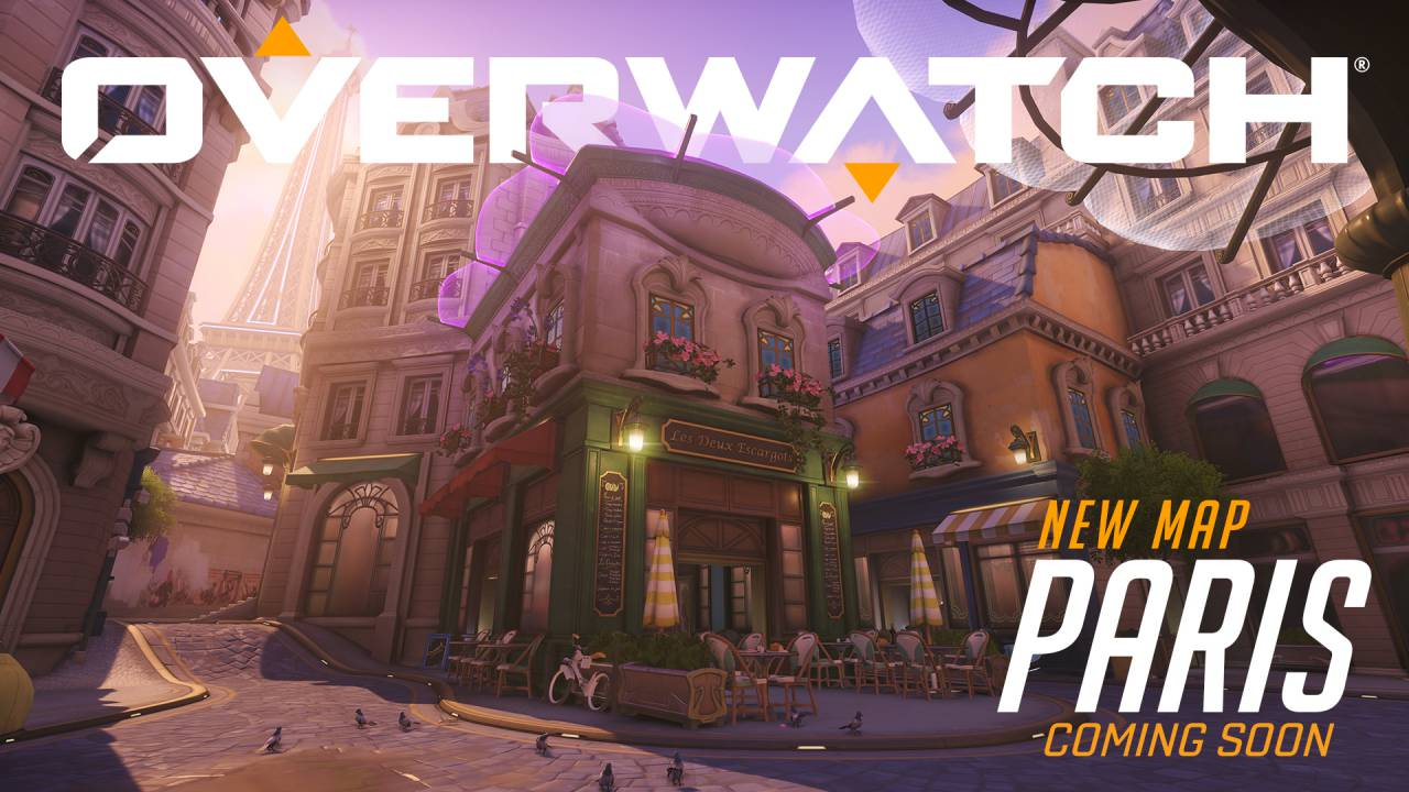 Overwatch Paris map goes live for PC players in PTR program